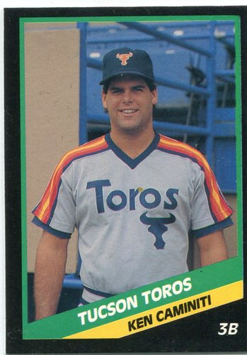 Photo of 1988 Tucson Toros CMC #11 Ken Caminiti