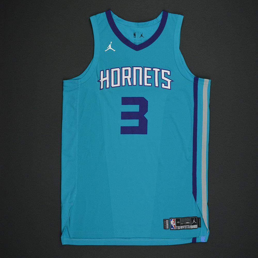 Jeremy Lamb - Charlotte Hornets - Kia NBA Tip-Off 2017 - Game-Worn Jersey