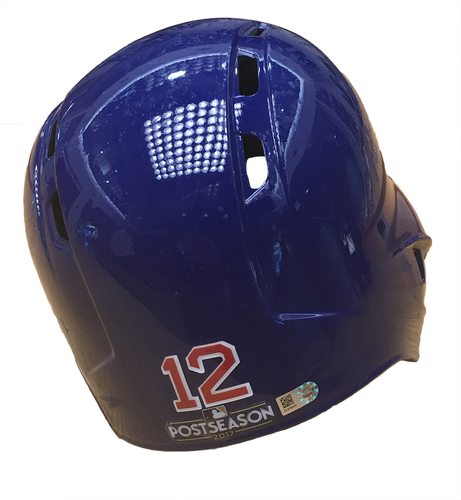 Photo of Kyle Schwarber 2017 Postseason Batting Helmet