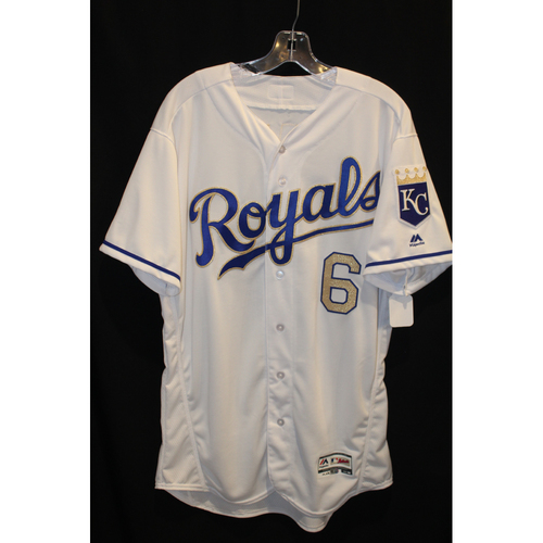 Photo of Game-Used Jersey: Lorenzo Cain (Size 46 - MIN at KC - 9/8/17)
