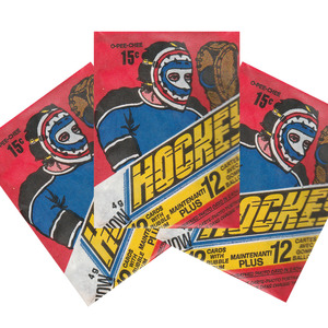 Lot of 3 Unopened 1977-78 O-PEE-CHEE Wax Packs