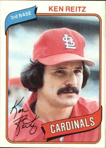 Photo of 1980 Topps #182 Ken Reitz