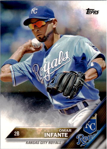 Photo of 2016 Topps #34 Omar Infante