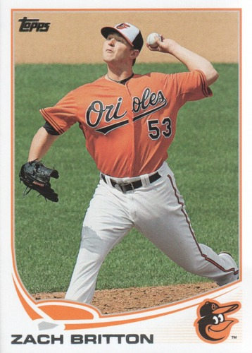 Photo of 2013 Topps Update #US292 Zach Britton