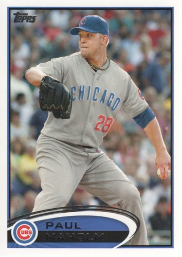 Photo of 2012 Topps #525 Paul Maholm