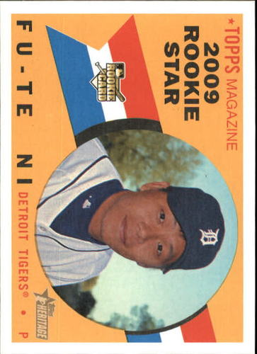 Photo of 2009 Topps Heritage #573 Fu-Te Ni RC