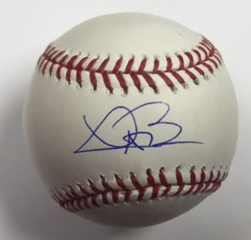 Photo of Trevor Bauer Autographed Baseball