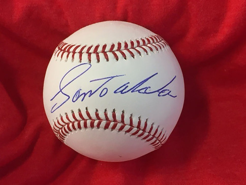 Photo of Santo Alcala Autographed Baseball