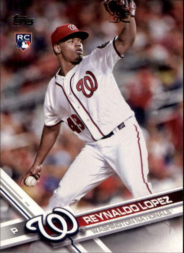 Photo of 2017 Topps #120 Reynaldo Lopez RC