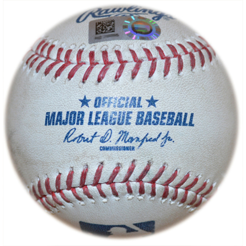 Photo of Nationals Test - Game-Used Baseball