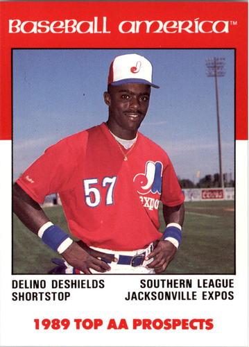 Photo of 1989 Baseball America AA Prospects Best #AA15 Delino DeShields