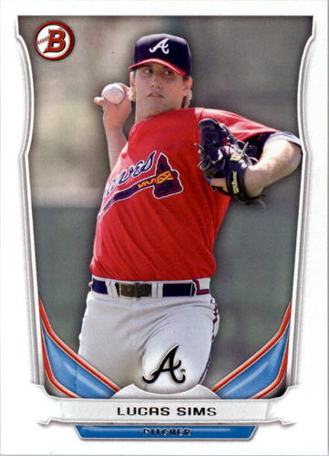 Photo of 2014 Bowman Draft Top Prospects #TP13 Lucas Sims