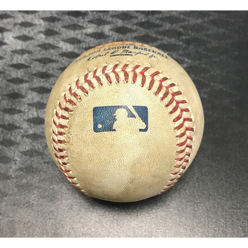 Photo of Game-Used Baseball - Paul Goldschmidt Lineout & J.D. Martinez Double vs. Alex Wood