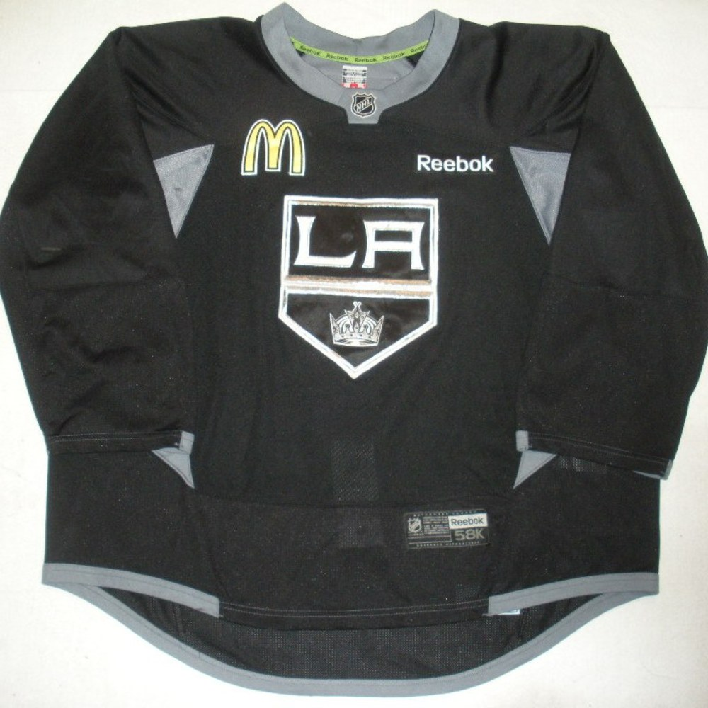 Jean-Francois Berube - 2014 Stanley Cup Final - Los Angeles Kings - Practice-Worn Jersey