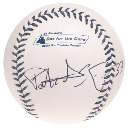 Photo of Ed Randall's Fans For the Cure Auction: Patrick Ewing Autographed Baseball