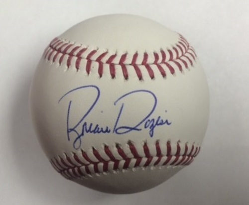 Brian Dozier Autographed Baseball