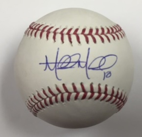 Photo of Mitch Moreland Autographed Baseball