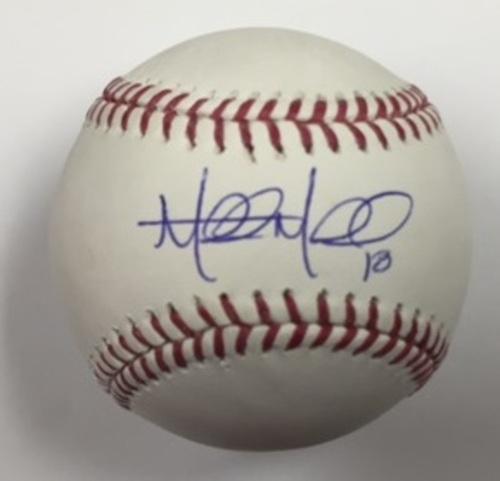 Photo of Mitch Moreland Autographed Baseball