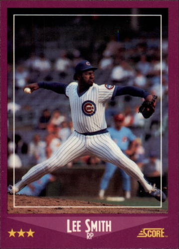 Photo of 1988 Score Glossy #31 Lee Smith