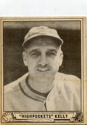 Photo of 1940 Play Ball #142 George Kelly rookie card --Hall of Famer