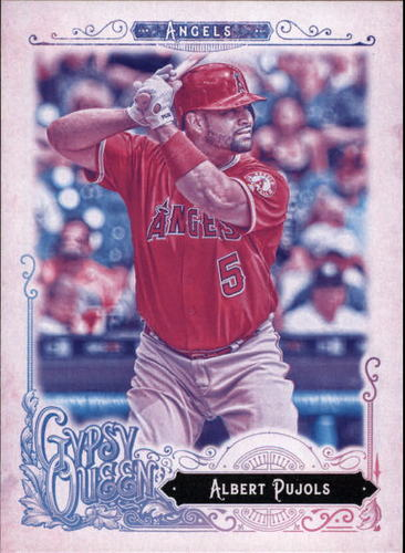 Photo of 2017 Topps Gypsy Queen Missing Blackplate #102 Albert Pujols