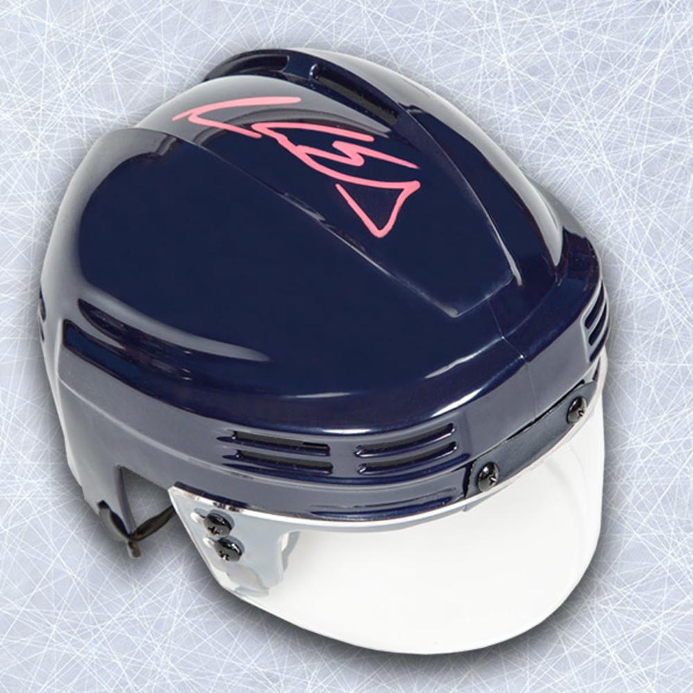 Aaron Ekblad Autographed Blue Mini Helmet - Florida Panthers