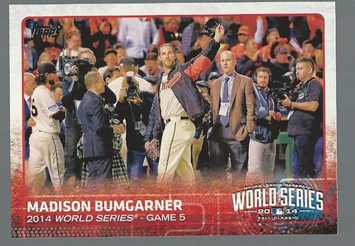 Photo of 2015 Topps #227 Madison Bumgarner WSH