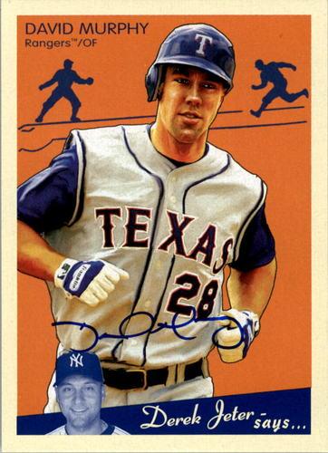 Photo of 2008 Upper Deck Goudey Autographs #MU David Murphy