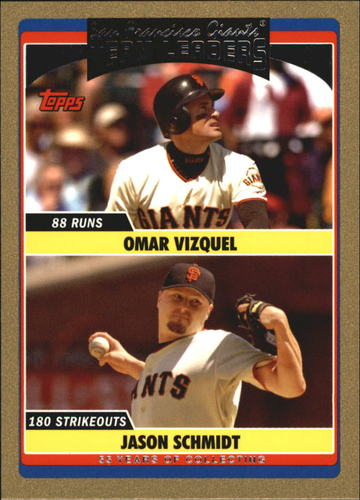 Photo of 2006 Topps Update Gold #304 O.Vizquel/J.Schmidt TL