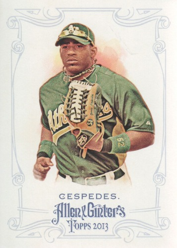 Photo of 2013 Topps Allen and Ginter #60 Yoenis Cespedes