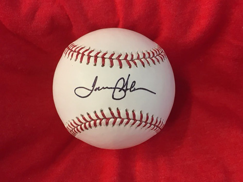 Photo of Tommy Helms Autographed Baseball