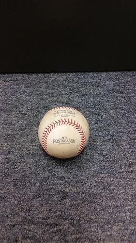 Photo of Authenticated Game Used Baseball - Josh Donaldson Double against Matt Bush (2016 ALDS Game 3)