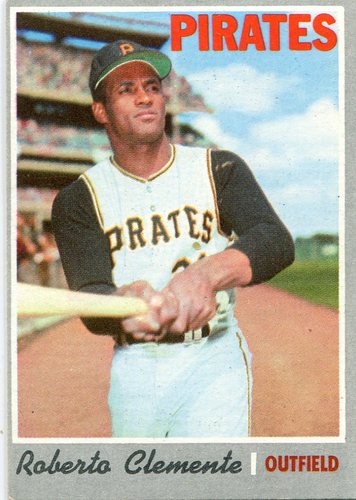 Photo of 1970 Topps #350 Roberto Clemente -- Pirates Hall of Famer
