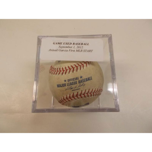 Photo of Game-Used Baseball: Avisail Garcia's First MLB Start