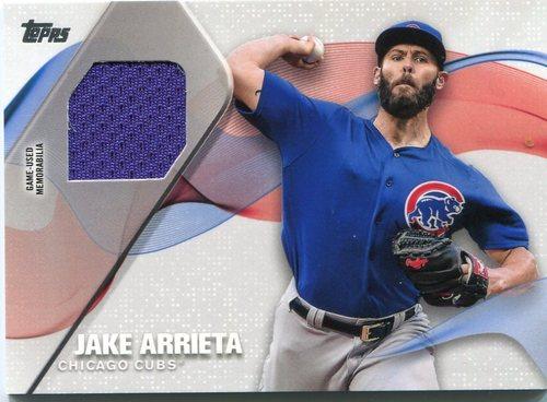 Photo of 2017 Topps Major League Materials #MLMJAR Jake Arrieta