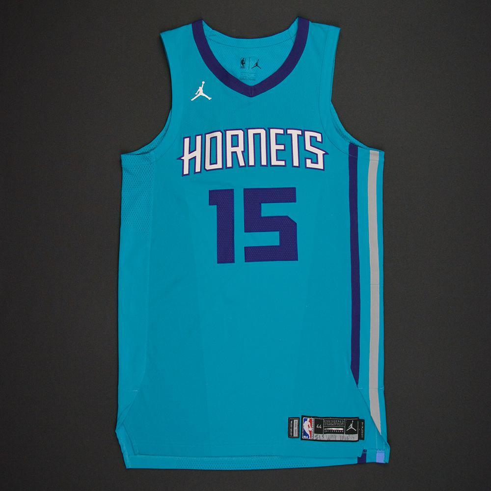 Kemba Walker - Charlotte Hornets - Kia NBA Tip-Off 2017 - Game-Worn Jersey