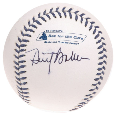 Photo of Ed Randall's Fans For the Cure Auction: Dusty Baker Autographed Baseball