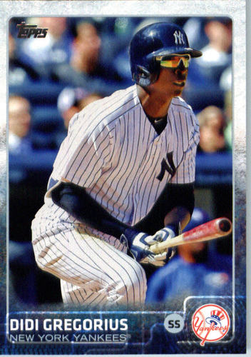 Photo of 2015 Topps Update #US350A Didi Gregorius