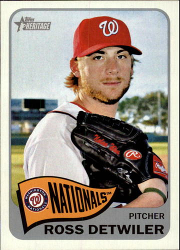 Photo of 2014 Topps Heritage #242 Ross Detwiler