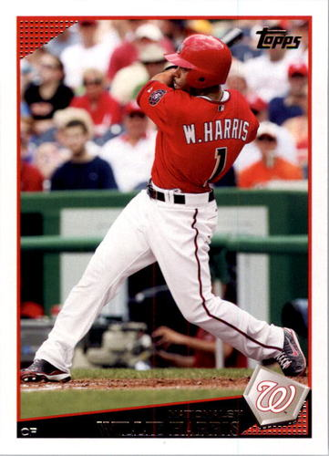 Photo of 2009 Topps #97 Willie Harris