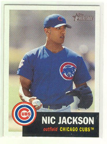 Photo of 2002 Topps Heritage #139 Nic Jackson RC
