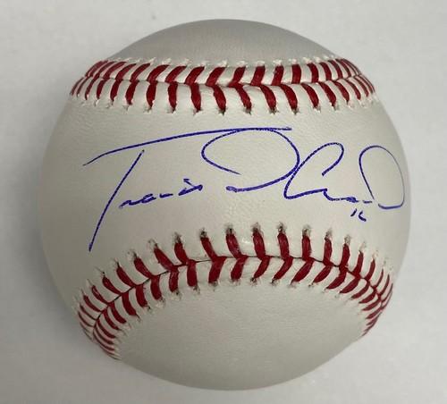 Photo of Travis d'Arnaud Autographed Baseball