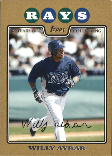 Photo of 2008 Topps Update Gold Border #UH217 Willy Aybar