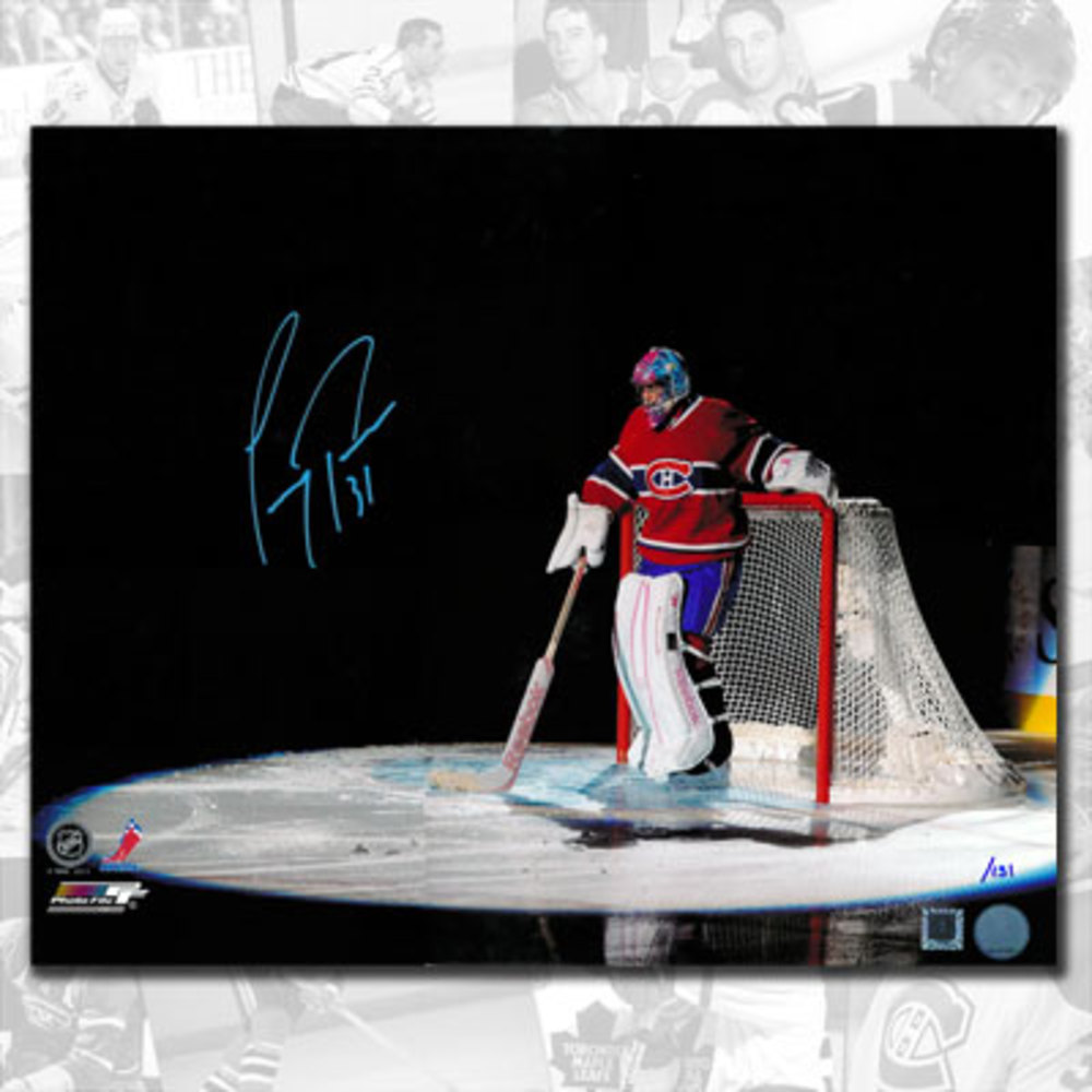 Carey Price Montreal Canadiens Spotlight Autographed 16x20