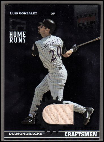 Photo of 2002 Donruss Best of Fan Club Master Craftsmen Bats #C4 Luis Gonzalez