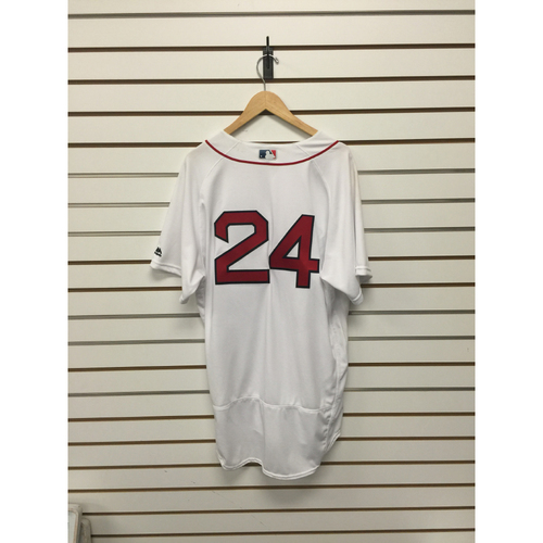 Photo of David Price Game-Used 2016 Home Jersey - Win #13