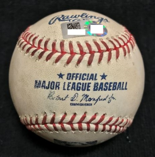 Photo of Game-Used Baseball from Pirates vs. Reds on 5/6/2015 - Burnett to Phillips, Single