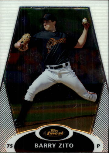 Photo of 2008 Finest #72 Barry Zito
