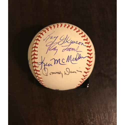 Photo of LA Dodgers Foundation Auction: LA Dodgers 60s Legends Autographed Baseball