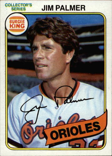 Photo of 1980 Burger King Pitch/Hit/Run #7 Jim Palmer